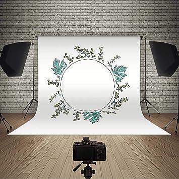 Amazon Com Round Frame With Artemisia Vulgaris Backdrop