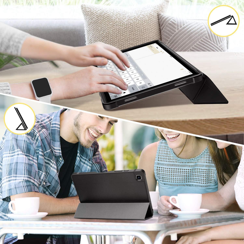 Ultra Delgado y Ligero 2 Pack ZtotopCase Funda + Negro con Funci/ón Atril para Funda Samsung Galaxy Tab A7 con Templado Glass Film Protector Pantalla Tablet Samsung Tab A7 10.4 2020