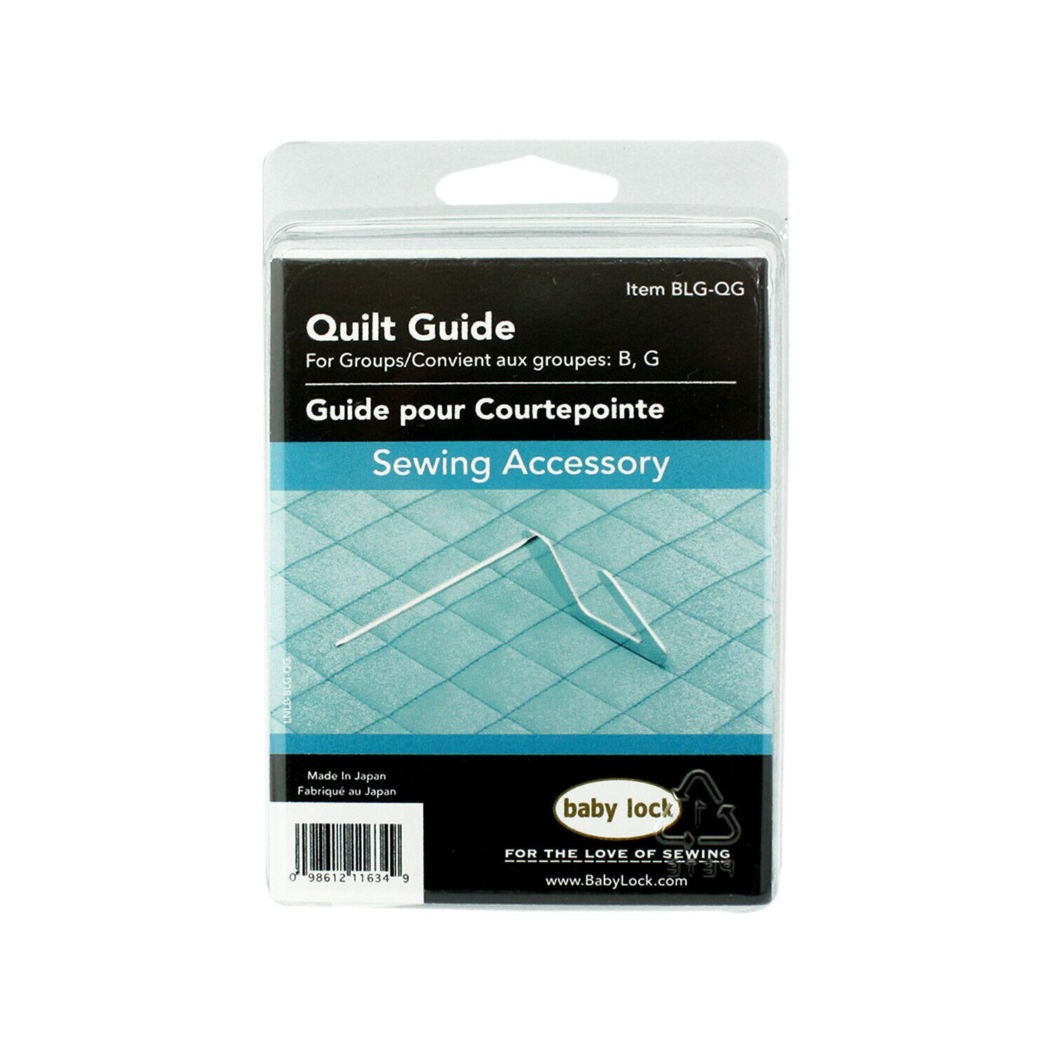 Quilting Guide #BLG-GQ for Baby Lock Sewing Machine