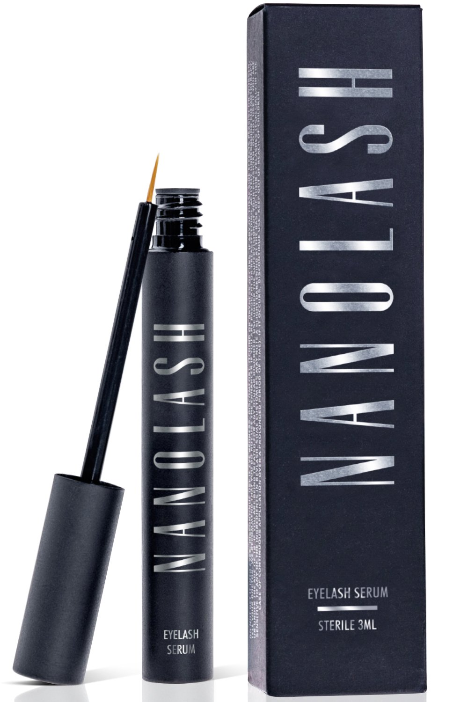 Nanolash Eyelash Growth Serum Conditioner For Enhanced Long Luscious Eyelashes and Eyebrows – 3ml