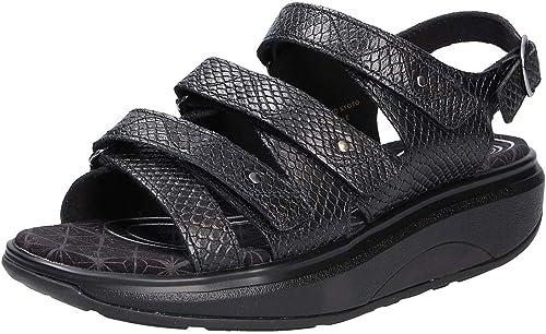 Joya Damen Sandale ID Kyoto Black Snake: : Schuhe