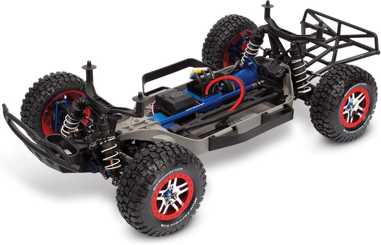 Traxxas Slash 4X4 Platinum Edition - vehículos de Tierra por Radio Control (RC) (Cochecito de Juguete)