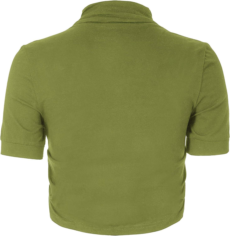 Belle poque Confortevole giacca spalla modale Bolero Shrug Bolero svago delle Donne