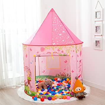 Kids Tent Anyshock Pop Up Baby Toys Play Tent House Princess Castle Dollhouse Outdoor and  sc 1 st  Amazon.ca & Kids Tent Anyshock Pop Up Baby Toys Play Tent House Princess ...