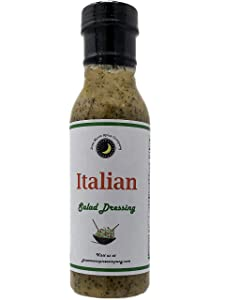 Premium | ITALIAN Salad Dressing | Low Saturated Fat | Cholesterol Free | Sugar Free | Crafted in Small Batches with Farm Fresh Herbs for Premium Flavor and Zest