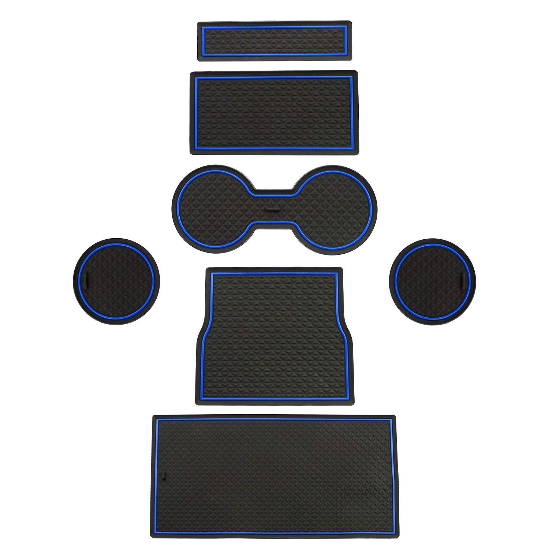 LFOTPP Model 3 Support de Porte int/érieure en Caoutchouc pour Porte-gobelet Bleu