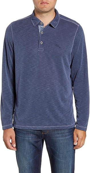 Tommy Bahama Mens Palmetto Paradise Polo Long Sleeve Polo Shirt ...