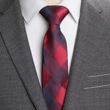 KYDCB Corbatas para Hombre Corbata Delgada Raya 6 cm Corbatas para ...