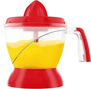 Big Boss 9088 Electric Citrus Juicer, Red