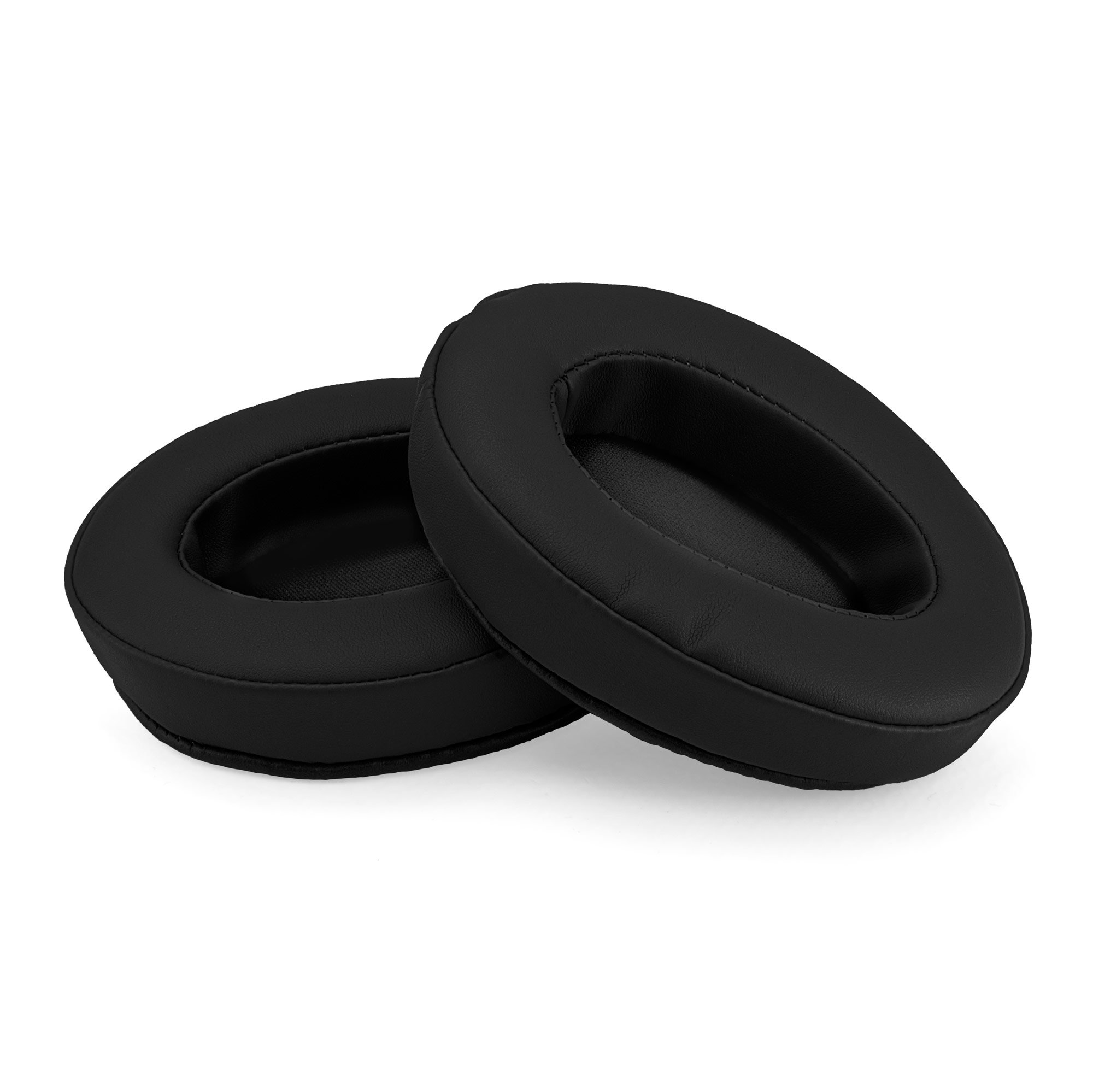 Brainwavz Replacement Memory Foam Earpads - Suitable For Many Other Large Over The Ear Headphones - AKG, HifiMan, ATH, Philips, Fostex (Black)