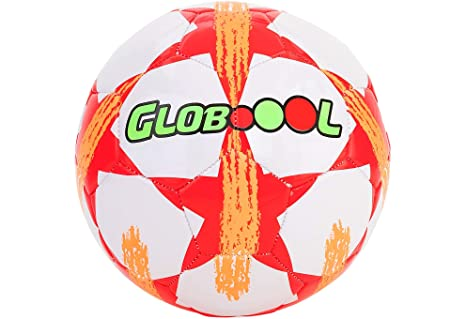 GLOBO, Bola de fútbol 2.7mm Cuero de PVC 400gr desinflado Balón ...
