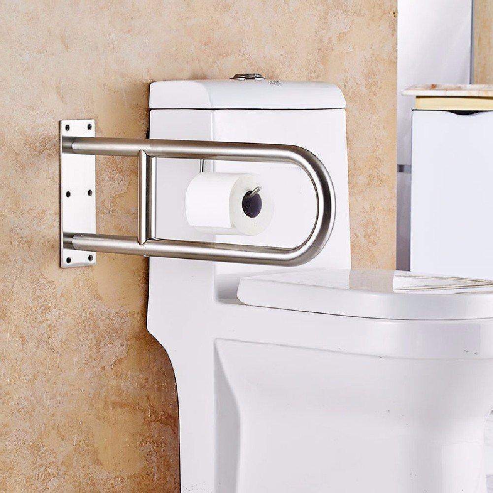 WAWZJ Handrail Stainless Steel U Toilet Handrails For The Disabled Elderly Toilet Latrines
