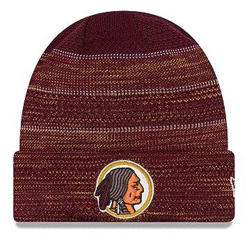 Washington Redskins New Era 2017 NFL Sideline Historic Cold Weather TD Knit  Hat 19f318887c68
