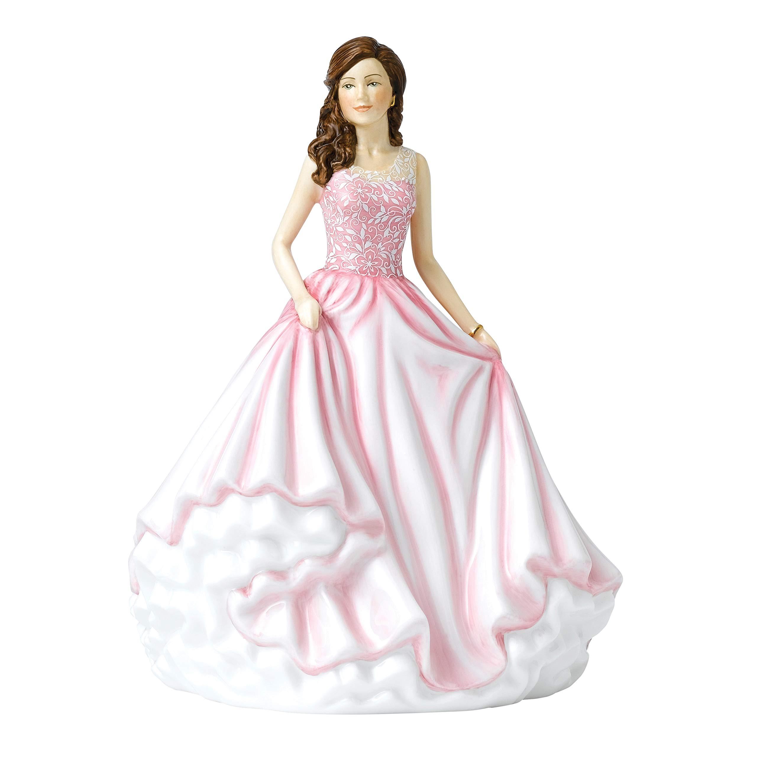 Royal Doulton HN 5875 Sentiment Petites 6.9'' Beautiful Charm, Pink by Royal Doulton
