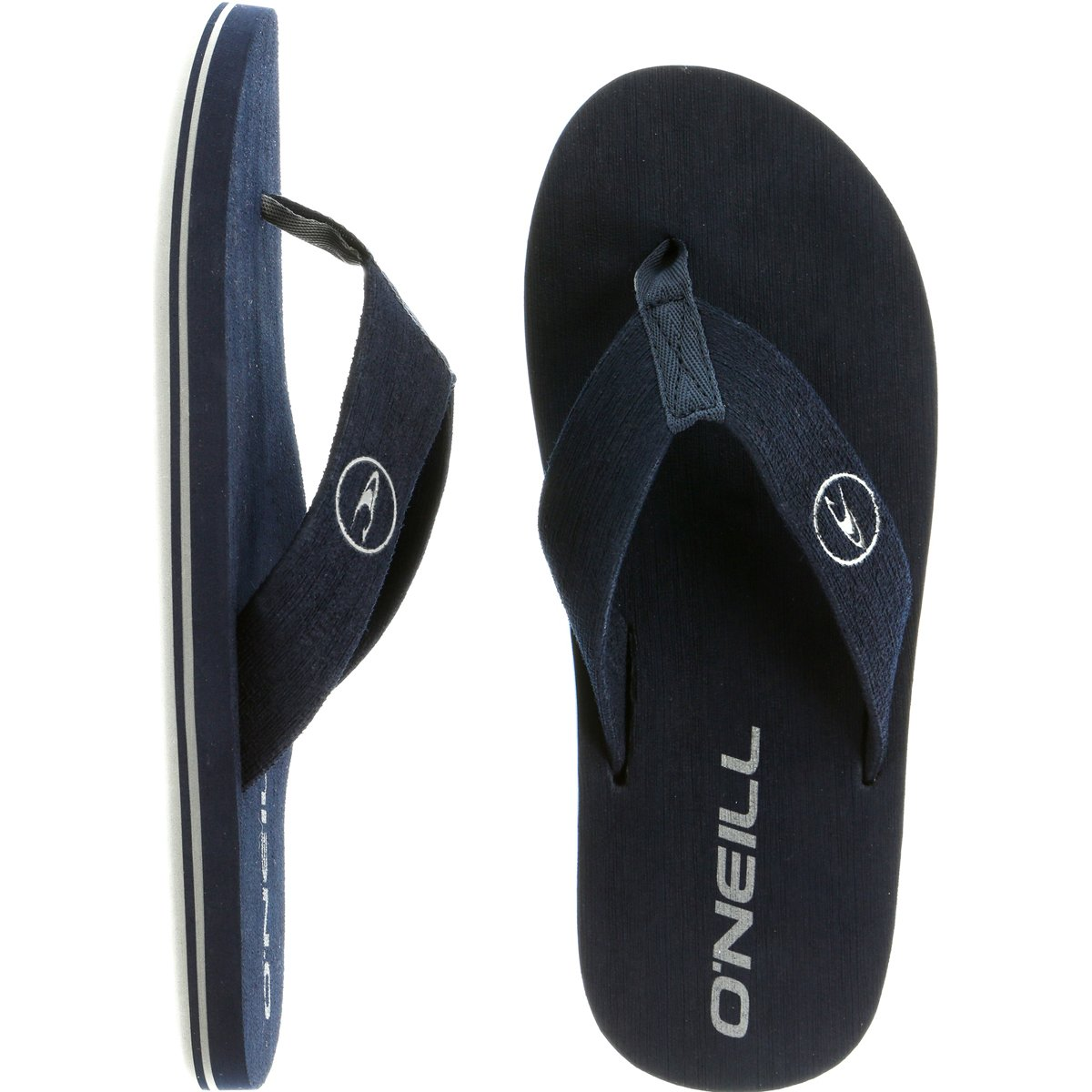 O'Neill Men's Phluff Daddy Flip Flop, Navy, 8 M US