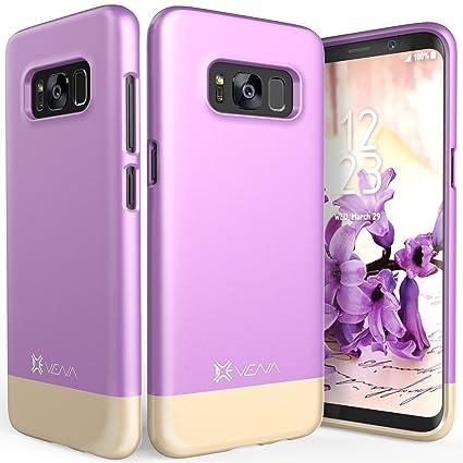 Amazon.com: Galaxy S8 Plus Caso, Vena [iSlide] [Two-Tone ...