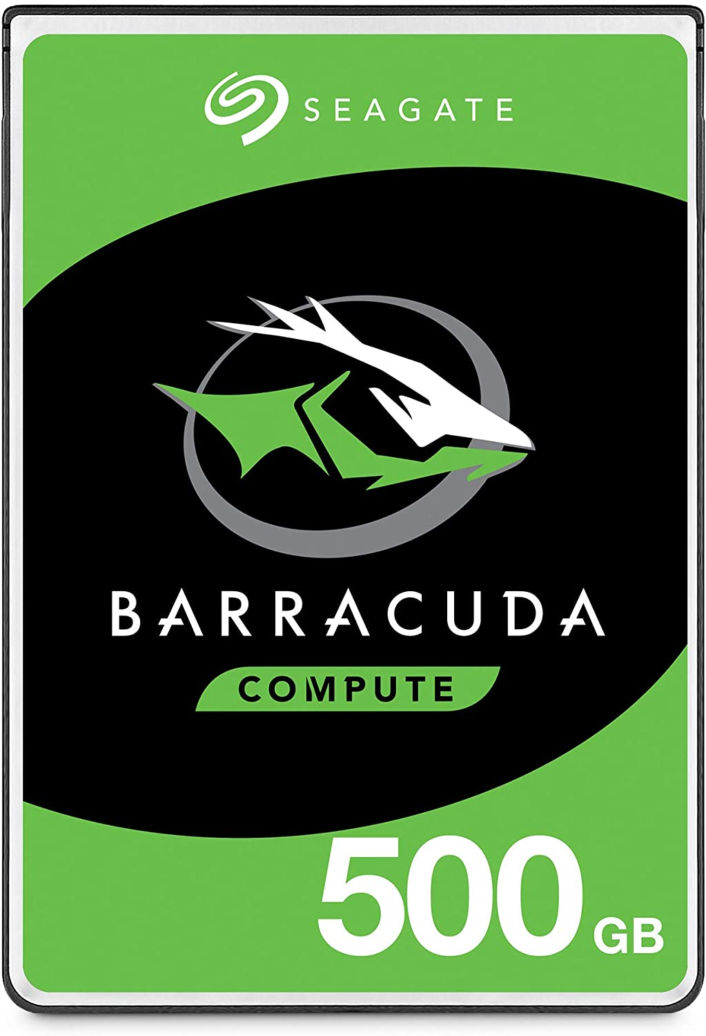 Seagate BarraCuda 500GB Internal Hard Drive HDD – 2.5 Inch SATA 6 Gb/s 5400 RPM 128MB Cache for PC Laptop – Frustration Free Packaging (ST500LM030)