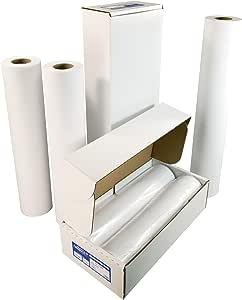 "Alliance CAD Paper Rolls, 36"" x 150', 92 Bright, 32lb - 2 Rolls Per Carton - Ink Jet Bond Rolls with 3"" Core"