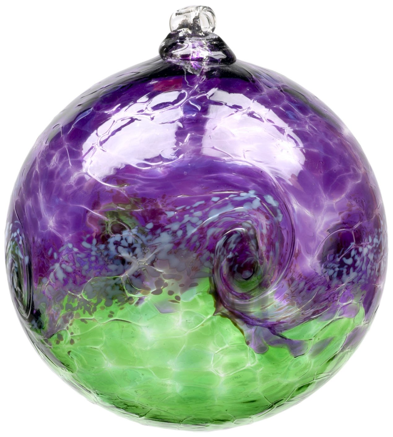 Kitras 3-Inch Van Glow Ball, Purple/Green