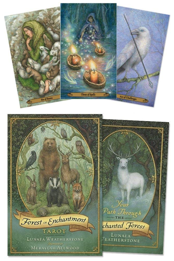 Forest of Enchantment Tarot by Llewellyn Publications