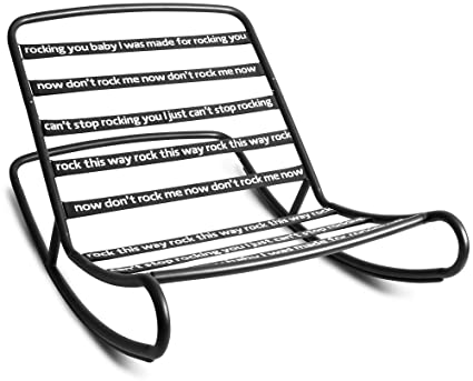 Wondrous Amazon Com Fatboy Rnr Blk Rock N Roll Beanbag Chair Frame Machost Co Dining Chair Design Ideas Machostcouk