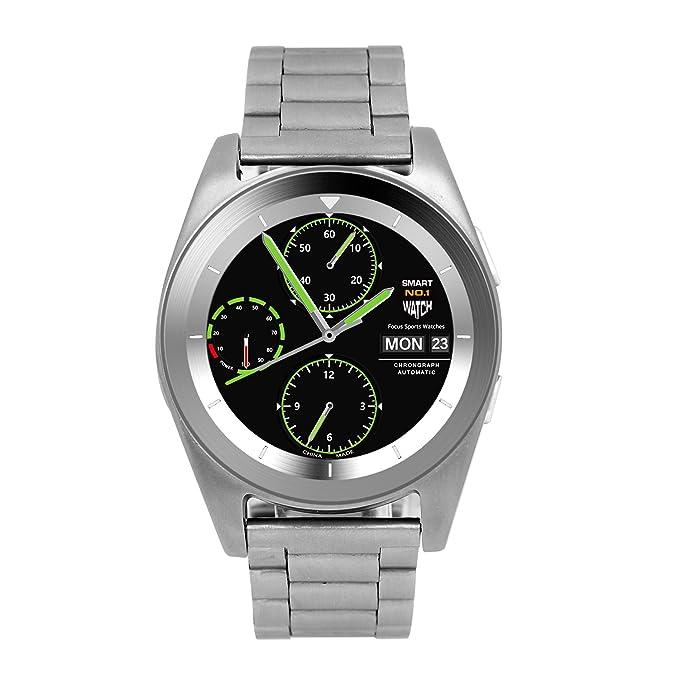 Amazon.com: Smart Watch Upgrade Smartphone Call SMS ...