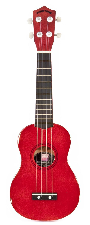 Coloured Ukulele - Red - Guitarra para niños (MFK PTN100916 ...