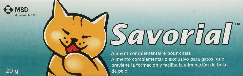 MSD Savorial (Malta Gatos) 20G 1 Unidad 21 g: Amazon.es: Productos ...