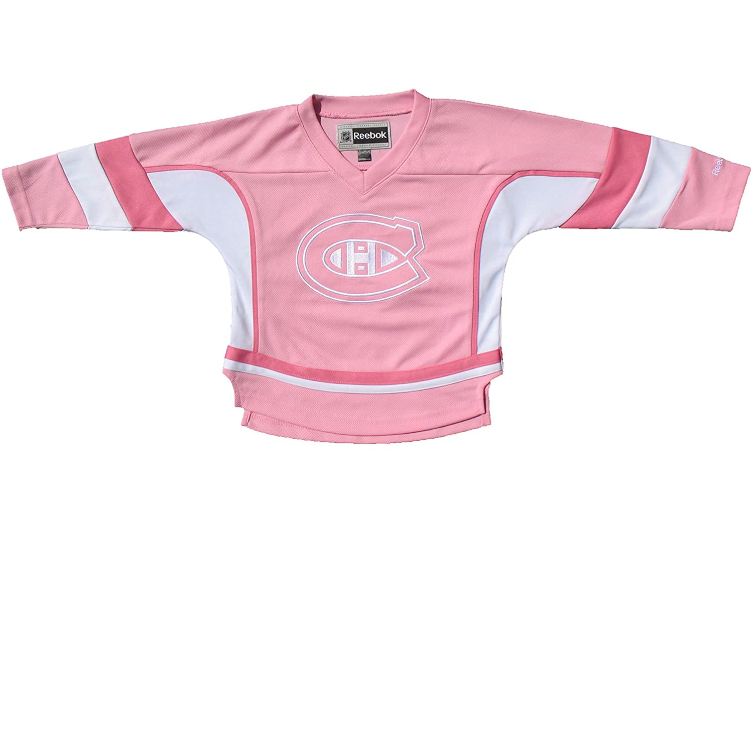 Montreal Canadiens Toddler Girls Pink Fashion Jersey - Size 2T Reebok