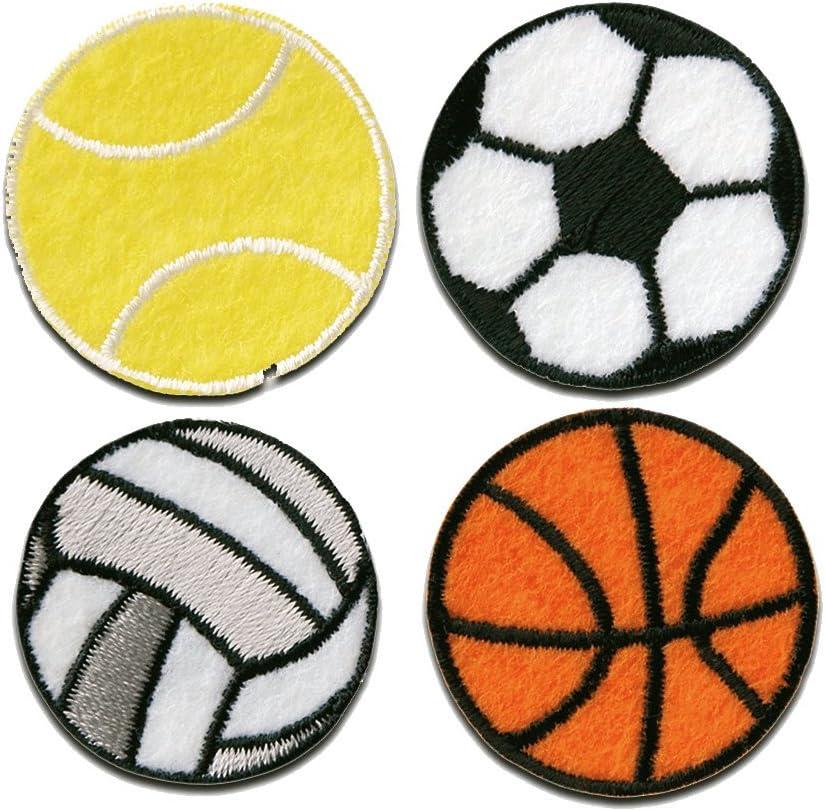 Parches - Set tenis fútbol voleibol baloncesto deporte - colorido ...