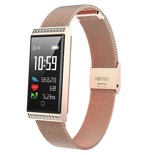 Reloj podómetro para niños y Mujeres, Reloj Inteligente de Actividad física HR, Monitor de