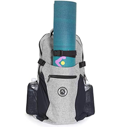 c927d9f3cd Aurorae Yoga Multi Purpose Backpack. Mat Sold Separately (Snow)  Amazon.ca   Sports   Outdoors