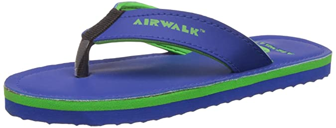 45f9bc8c95653e Airwalk Boy s Flip Flop Blue Synthetic Flip-Flops and House Slippers - 13C  UK  Buy Online at Low Prices in India - Amazon.in