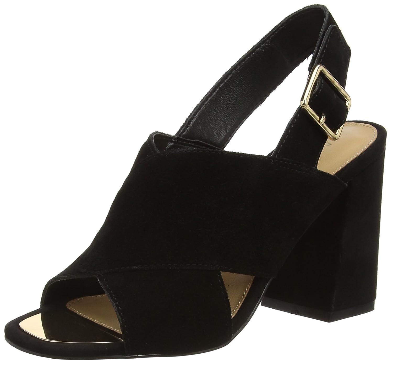 Black sandals ebay uk - Image Is Loading 4 Uk Black Black Suede 91 Aldo Women