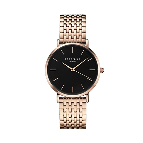 Rosefield The Upper East Side Cuarzo - Reloj (Reloj de Pulsera, Femenino, Rose