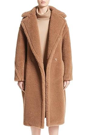 d40356a73005a Women s Oversized Long Teddy Bear Icon Coat Faux Fur Luxurious Plus Size  Winter Warm Parkas Jacket