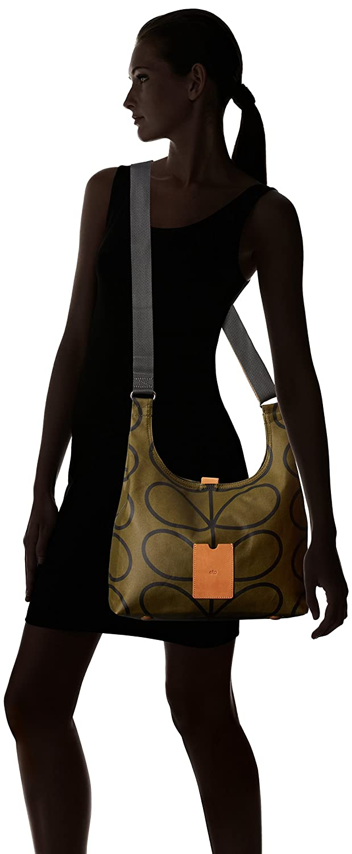 9cbbff4fec Orla Kiely Matt Laminated Giant Linear Stem Print Midi Sling Bag ...
