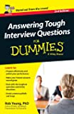 Image for Answering Tough Interview Questions For Dummies - UK