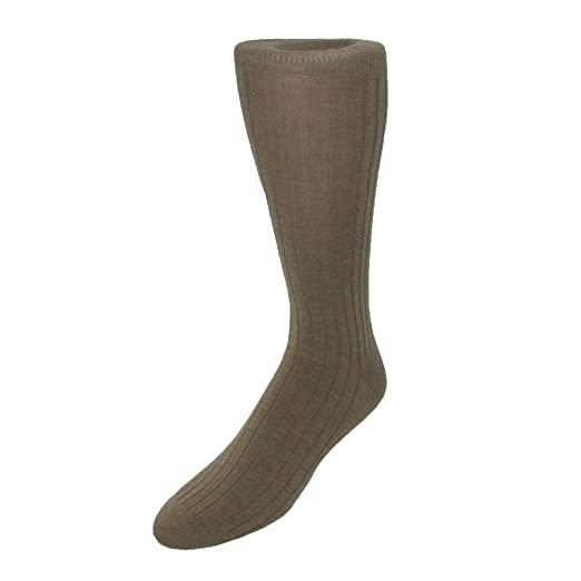 7da1b30042e22 Image Unavailable. Image not available for. Color: Windsor Collection Men's  Merino Wool Mid Calf Dress Socks ...