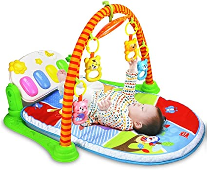 Musical Piano Play Mat Children/'s Soft Educational Instrument Sensory Kid/'s Toy