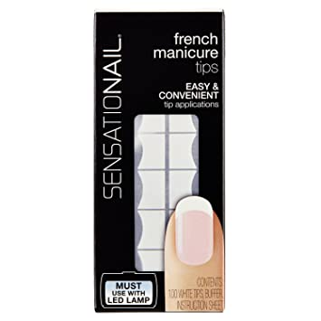 Amazon Sensationail French Manicure Tipsonly 71710 Beauty