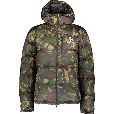 71ad181ff3a75 RALPH LAUREN RLX Green Camo Quilted Down Jacket. Size L: Amazon.co ...