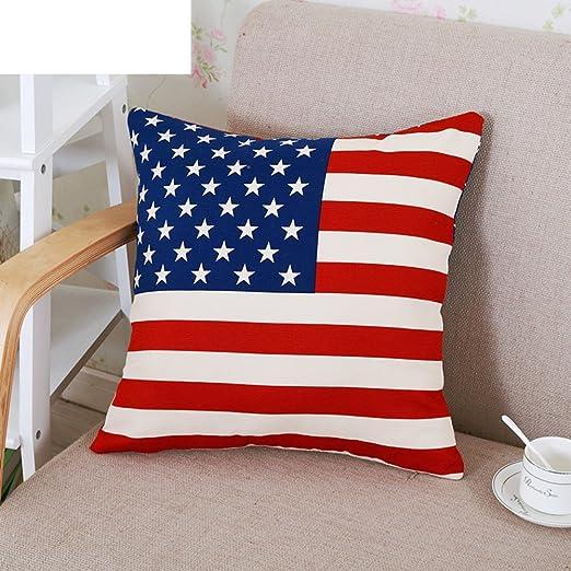 estilo británico/Unión Jack Funda de cojín/oficina/sofá ...