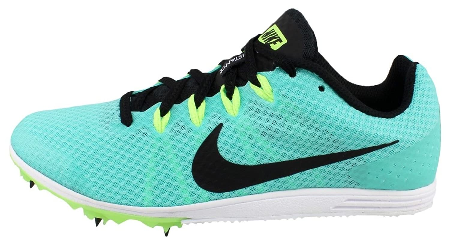 Amazon.com: Nike Women's Zoom Rival D 9 Track and Field Spikes 806560-303  Size 11 Teal/Black: Clothing