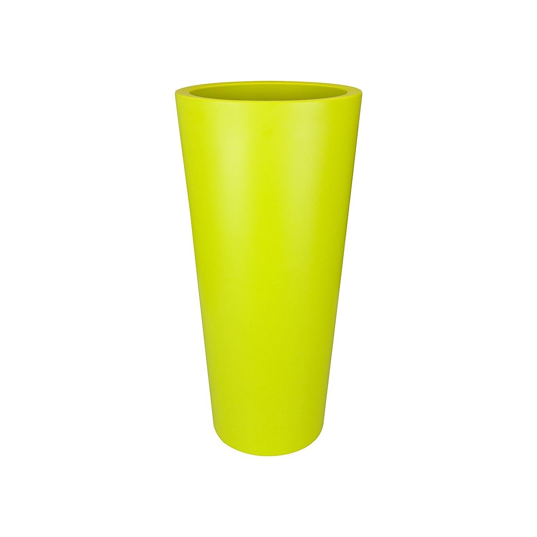 ELHO Blumentopf pure straight rund, hoch 40 cm, grün