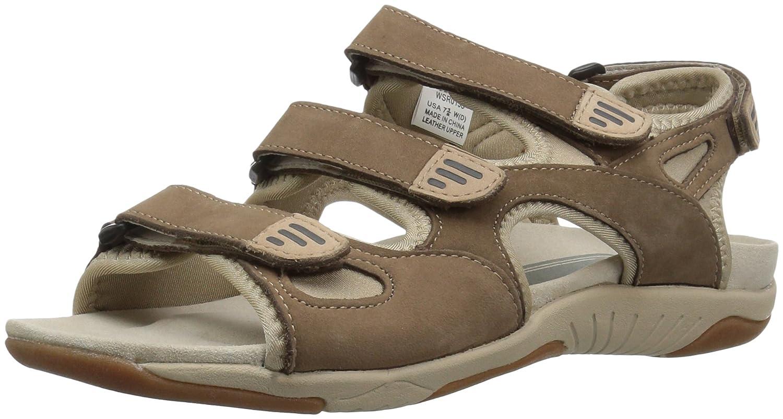 Propet Women's Nami Flat Sandal B01KNVGKFO 6.5 B(M) US|Gunsmoke/Dusty Taupe