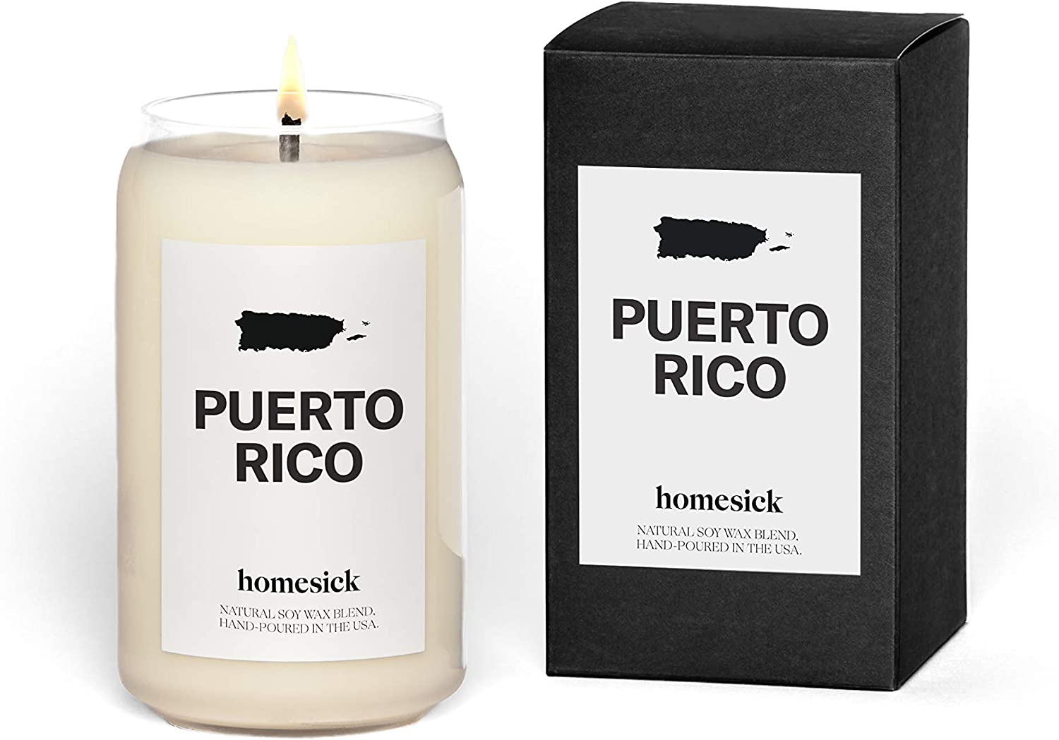 Homesick Scented Candle, Puerto Rico (2020 Version)