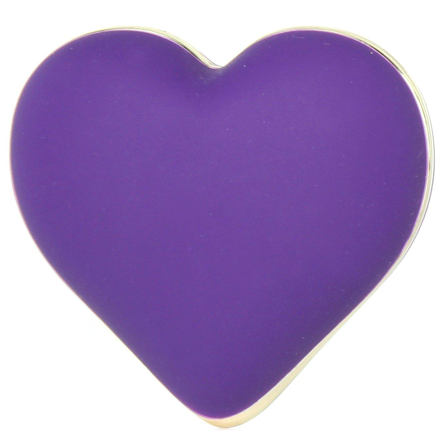 Amazon Rianne S Heart Vibe Wcosmetic Case Deep Purple Beauty