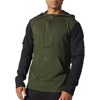 adidas Men's Athletics Postgame Fleece Half Zip Hoody