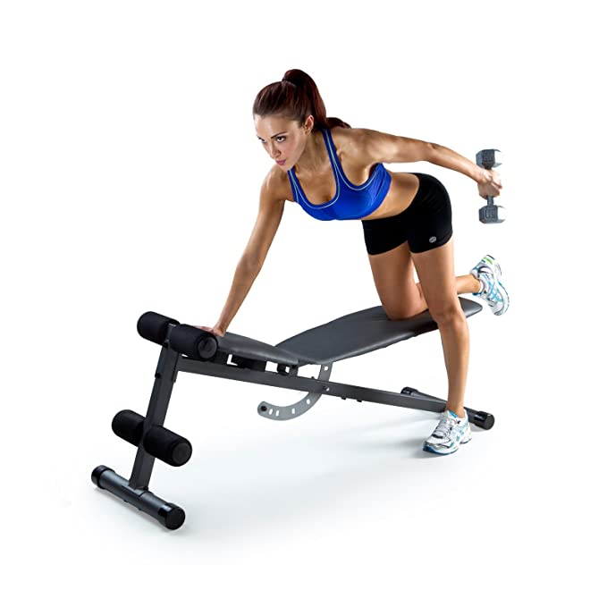 Amazon Com Gold S Gym Xr 5 9 Weight Bench Adjustable Weight